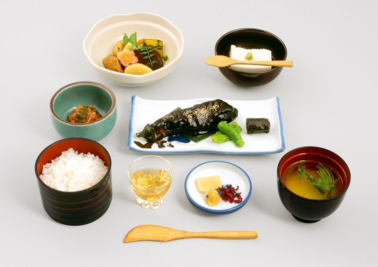 Sanko Zen (Buddhist vegetarian meal)