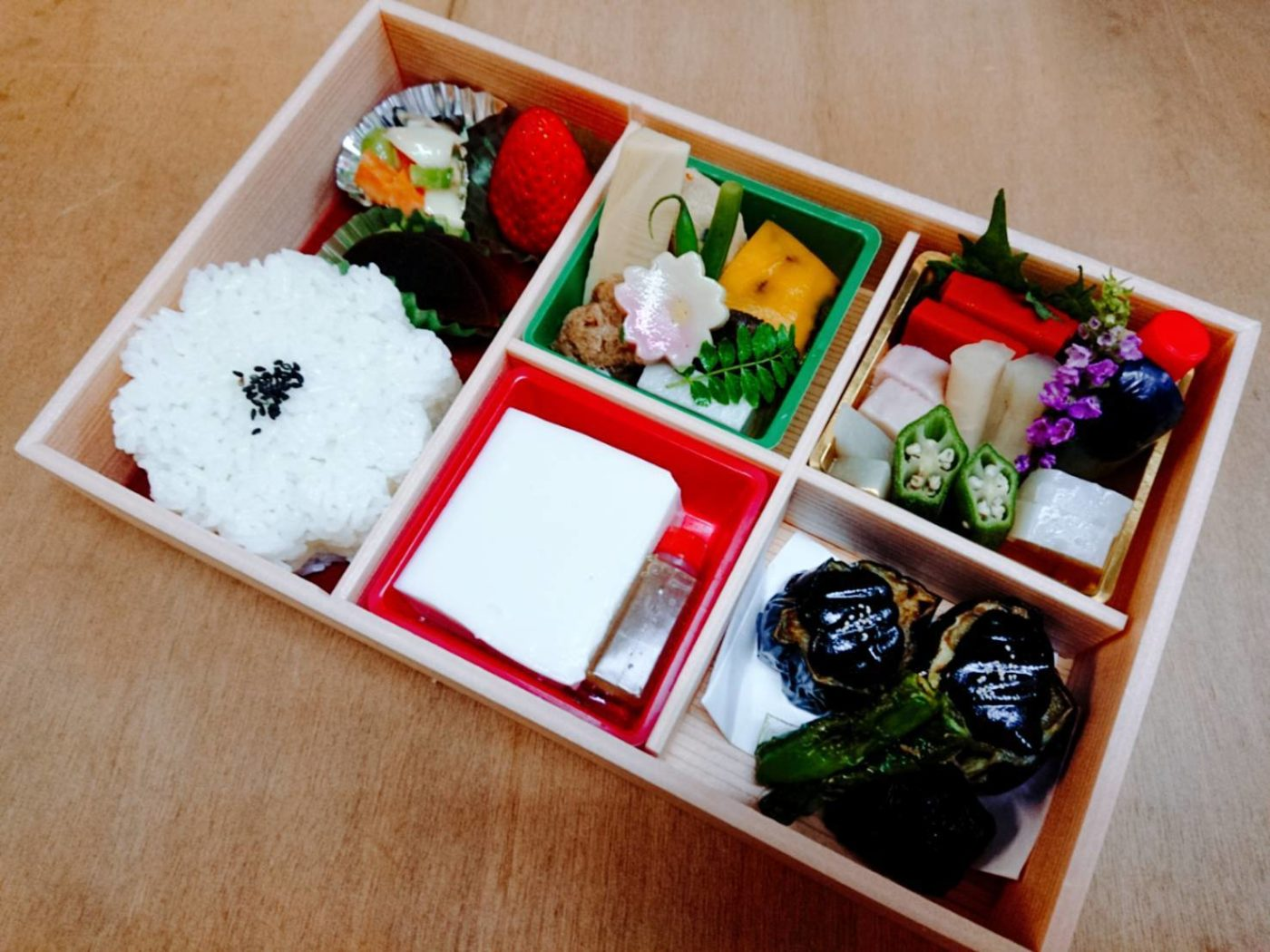 Buddhist vegetarian Bento(Take out)
